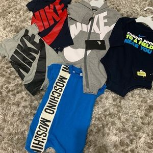0-3 Baby boy clothes, Nike & Moschino